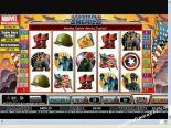bedava slot oyunları Captain America CryptoLogic